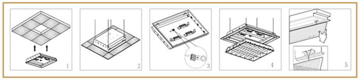 四川照明设备安装说明