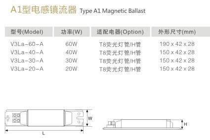 华辉照明|非标定制灯具|t8电感镇流器|t8电感镇流器