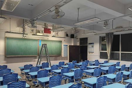 深圳宝安区海旺学校智慧教室改造