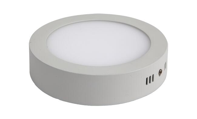 LED 12W 圆形明装面板灯 外形尺寸170x40mm 白光中性光黄光