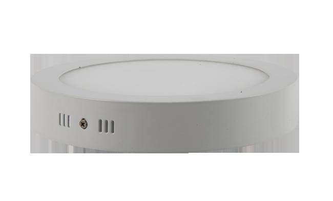 LED  20W 圆形明装面板灯 外形尺寸240x40mm 白光中性光黄光