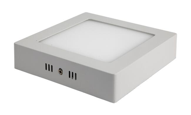 LED 12W 方形明装面板灯 外形尺寸170x170mm 白光中性光黄光
