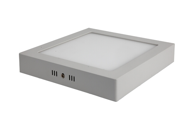 LED18W 方形明装面板灯 外形尺寸225x225mm 白光中性光黄光