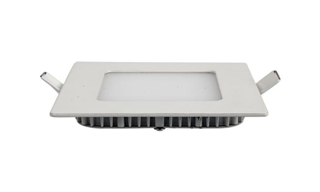 6W 超薄LED面板灯 方形 开孔105x105mm 白光中性光黄光