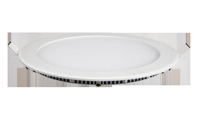 超薄LED面板灯 15W 圆形 开孔180mm  白光中性光黄光