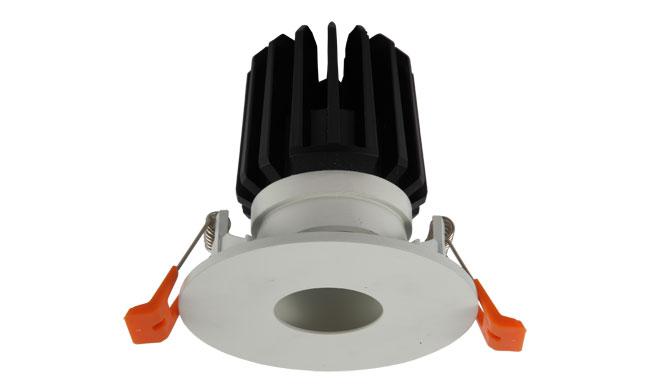 LED 9W COB圆孔酒店射灯 可调角度 开孔80mm  黄光白光中性光