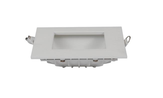8W方形漫反射 LED筒灯 开孔95*95mm黄光/白光/中性光