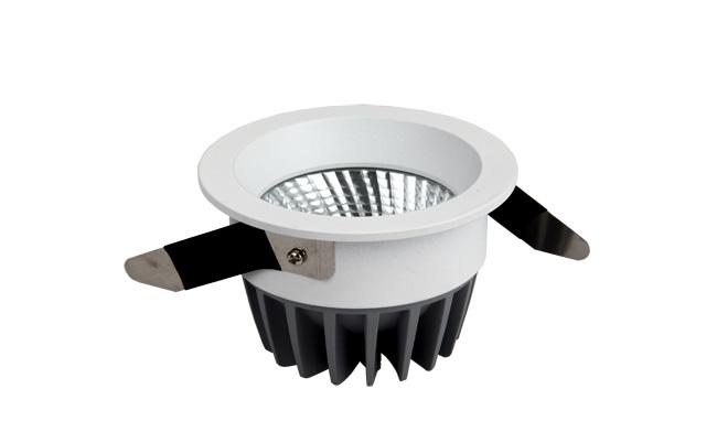 LED 12W COB深孔嵌灯 开孔80mm 黄光白光中性光