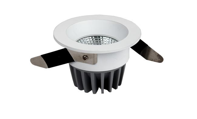 LED 7W COB深孔嵌灯 开孔65mm 黄光白光中性光