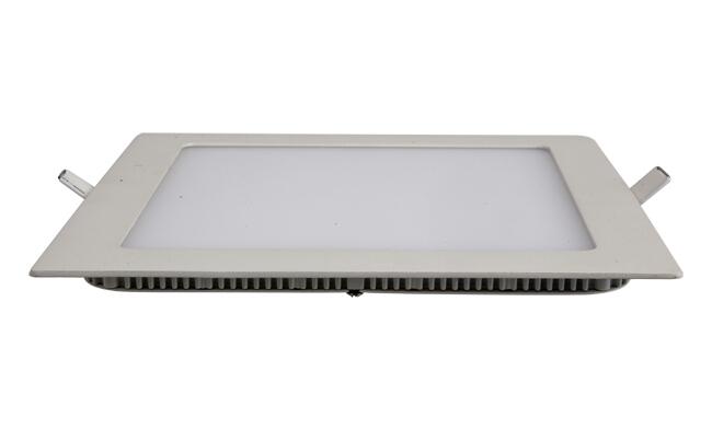 18W 超薄LED面板灯 方形 开孔205x205mm 白光中性光黄光
