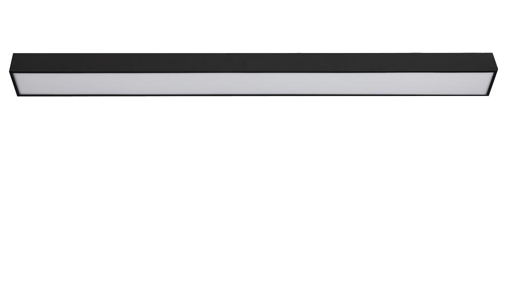 LED办公吊线灯 18W 100X1200mm 白色/黑色 白光中性光黄光