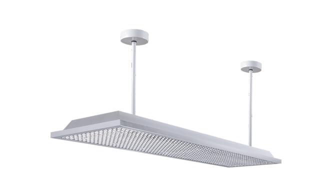 直发光LED护眼教室灯1200x300x130mm36w