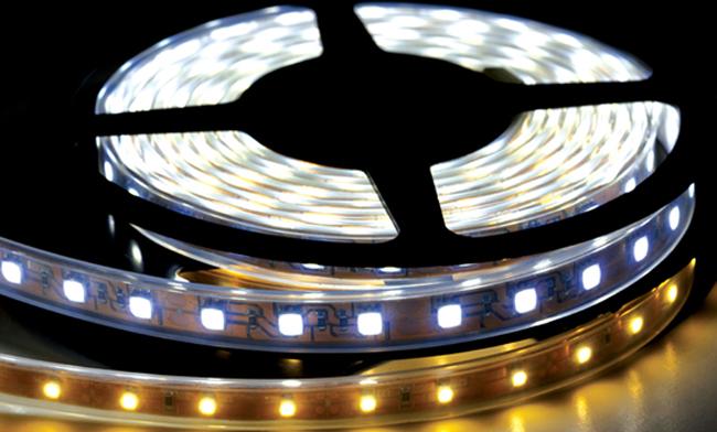 LED防水软灯带 尺寸10mm 12mm LED灯带生产厂家