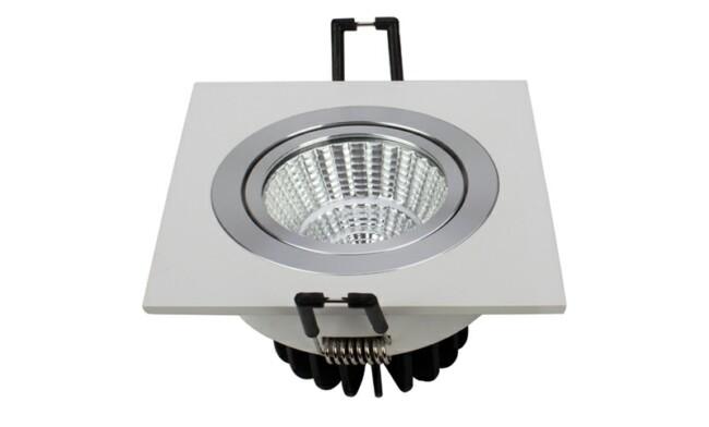 LED格栅射灯 7W  开孔尺寸80mm