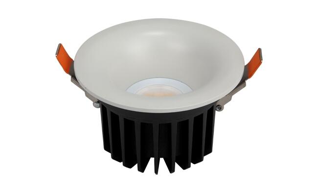 LED 11W COB深孔喇叭口筒灯 开孔110mm  黄光/白光/中性光