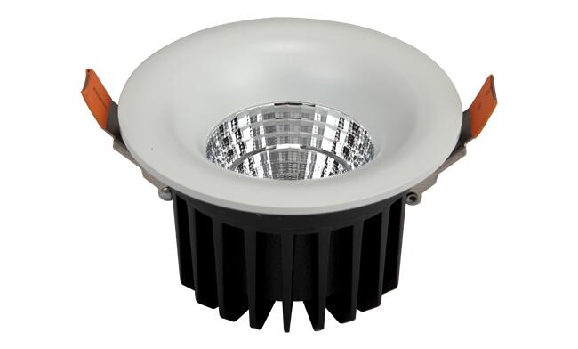 LED15W  COB深孔喇叭口筒灯开孔110mm黄光/白光/中性光
