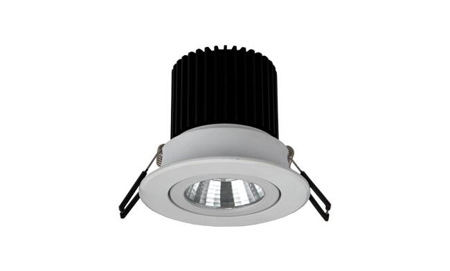 LED 5W COB嵌灯 可调角度 开孔70mm 黄光白光中性光