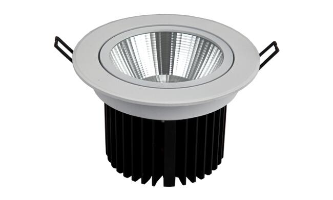 LED 18W嵌灯 COB  可调角度 开孔120mm 黄光白光中性光
