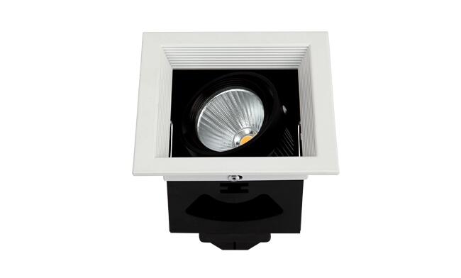 LED格栅射灯 开孔尺寸102x102mm