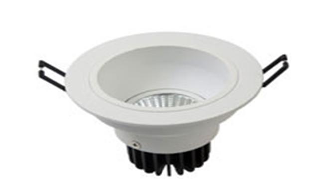 LED 4寸7W cob防眩嵌灯 开孔120mm 黄光白光中性光