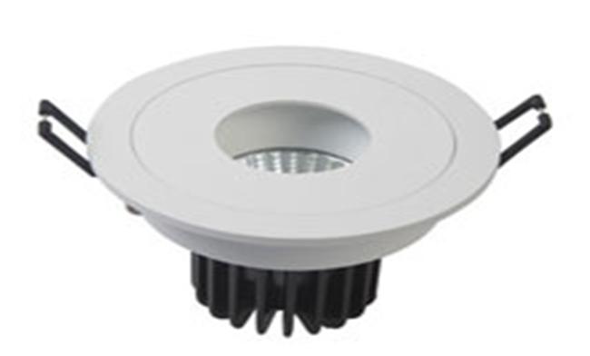 LED 7W  cob圆孔酒店射灯  开孔90mm 黄光白光中性光