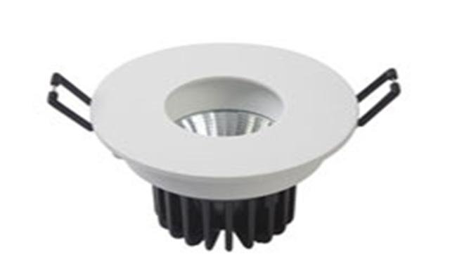 LED 7W  可调COB 圆孔酒店嵌灯 开孔80mm 黄光白光中性光
