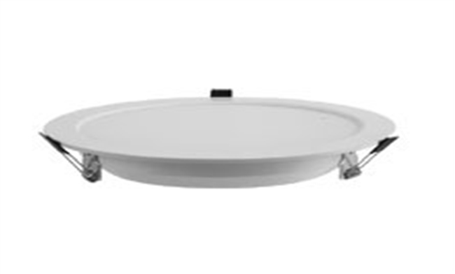 LED 8寸18W 贴片超薄草帽筒灯开孔200mm黄光/白光/中性光