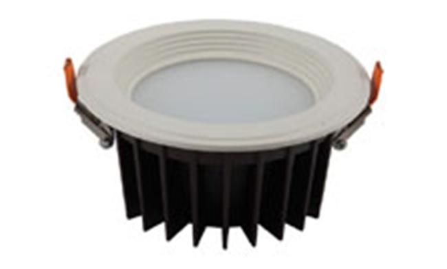 LED  5寸12W 贴片防眩防雾筒灯开孔145mm黄光/白光/中性光