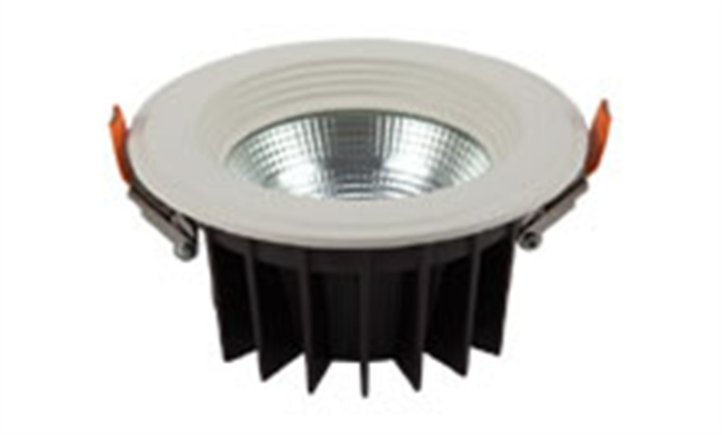 LED 4寸12W  cob筒灯开孔115mm 黄光/白光/中性光