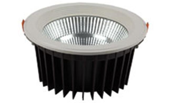 LED 8寸 24W  cob筒灯开孔200mm 黄光/白光/中性光
