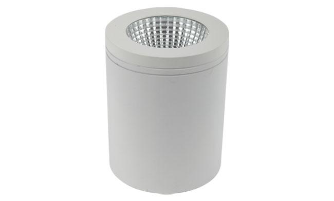 LED 3寸12WCOB明装筒灯尺寸120x150mm 黄光/白光/中性光