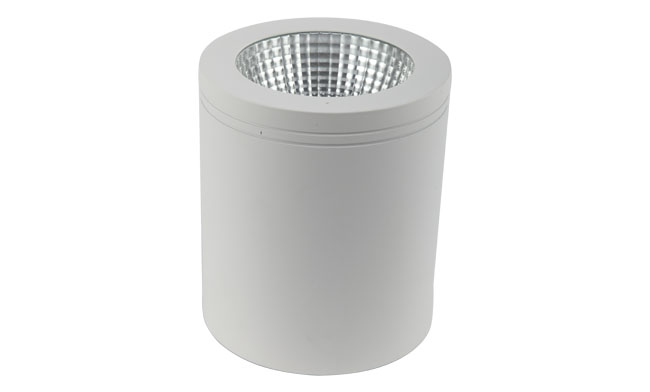 LED 4寸15W COB明装筒灯尺寸140x160mm黄光/白光/中性光