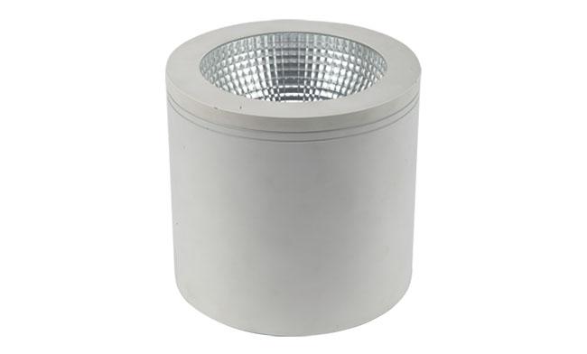 LED  8寸30W  cob明装筒灯尺寸220x195mm 黄光/白光/中性光