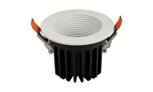 LED 9W深孔防眩cob筒灯开孔80mm 黄光/白光/中性光