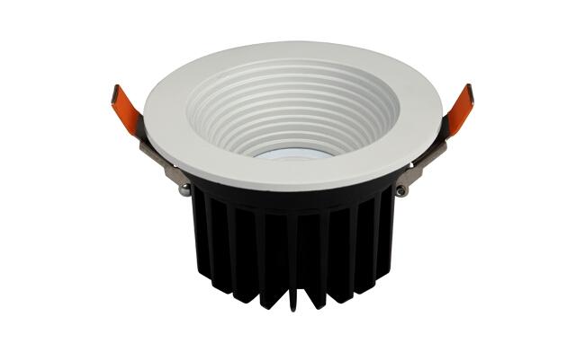 LED 11W  深孔防眩cob筒灯开孔110mm 黄光/白光/中性光