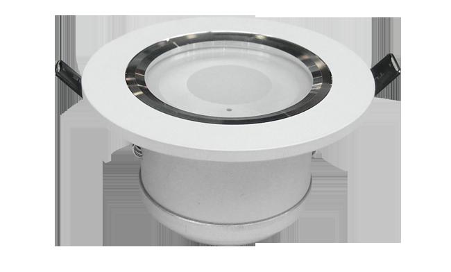 LED 3寸 5W COB 筒灯开孔90mm黄光/白光/中性光