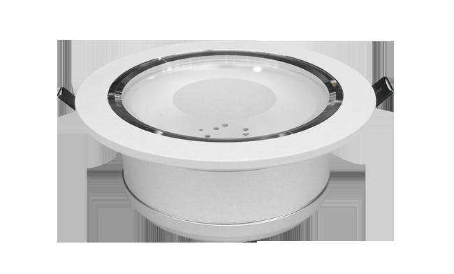 LED 5寸 12W cob'筒灯开孔150mm 黄光/白光/中性光
