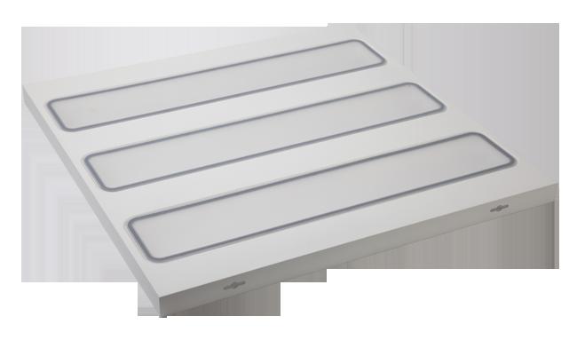 30W LED一体化灯盘 600x600mm 贴片 白光中性光黄光