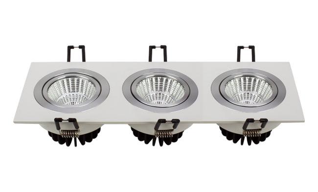 LED格栅射灯 21W 开孔尺寸245x80mm