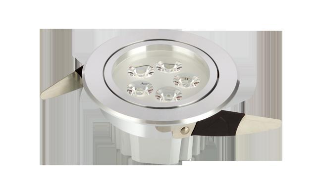LED 5W 内斜边天花灯(连体透镜)开孔95mm 黄光白光中性光