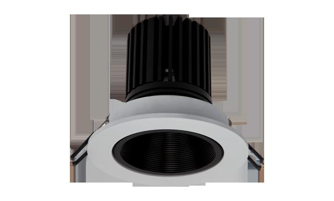 LED 9W 深孔COB嵌灯 可调角度 开孔95mm 黄光白光中性光