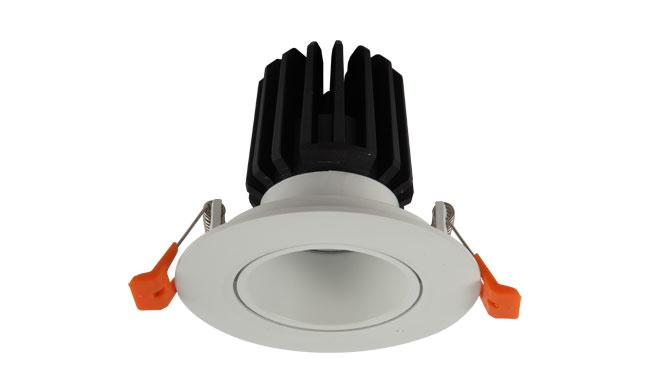 LED 9WCOB酒店射灯 可调角度 开孔90mm黄光白光中性光
