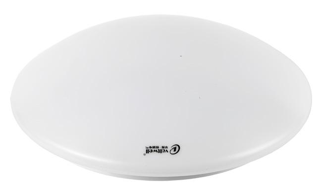 LED 15W 全白吸顶灯  尺寸Φ300x95mm 3000K/6400K