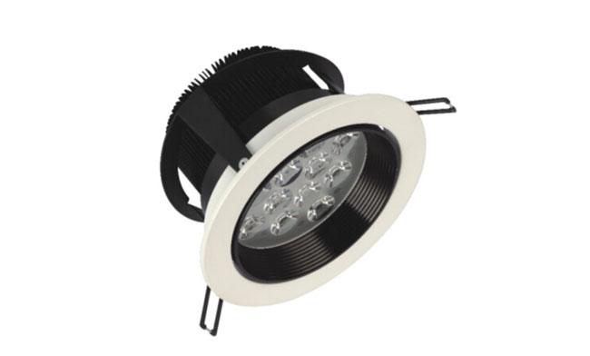 LED 12W车铝筒灯开孔135mm 黄光/白光/中性光