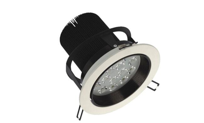 LED 18W 车铝筒灯 射灯 开孔150mm  黄光/白光/中性光