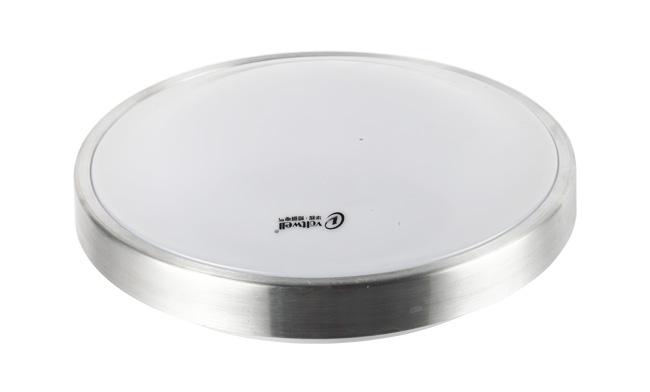 LED 10W 圆形铝吸顶灯 尺寸Φ260x95mm 3000K/6400K