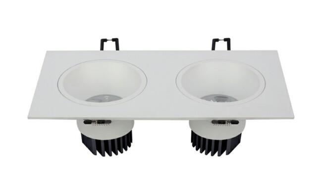LED 6W 开孔200x90mm深孔格栅射灯