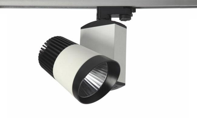 华辉照明30W LED COB轨道射灯系列