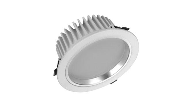 LED 6寸15W 贴片压铸筒灯 开孔180mm 黄光/白光/中性光