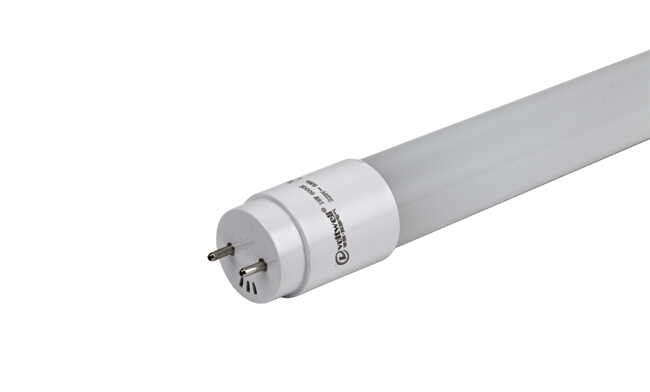 T8 LED 9W 全塑日光灯管/0.6米/高亮 单端/双端/白光中性光黄光